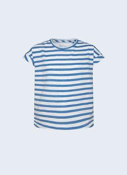 Pepe Jeans gestreiftes Segler T-Shirt in Optic White