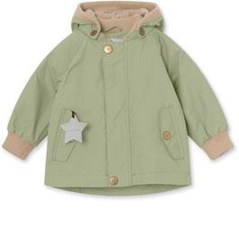 Hochwertige Mini A Ture Übergangsjacke Wally Fleece in Oil Green
