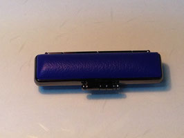 black horn of buffalo STAMP with  case(03.blue)