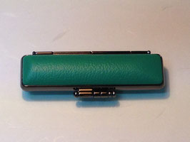 ivory(highest grade)STAMP with  case(05.green)