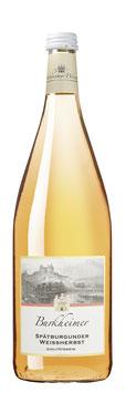 2020er Spätburgunder Weißherbst Qualitätswein