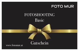 Fotoshooting Gutschein - Basic
