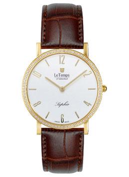 Le Temps Zafira Slim Swarovski Goldplatet - LT1086.61BL62