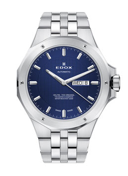 Edox Delfin Day Date Automatic - 88005-3M-BUIN