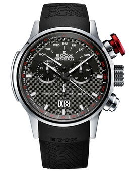 Edox Chronorally Chronograph - 38001 TIN NIN