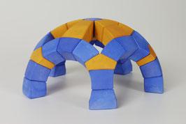 kaju KNOBELBAU: FIRMAMENT - Blau/Gelb