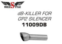 Arrow DB-Killer für GP2 Enschalldämpfer