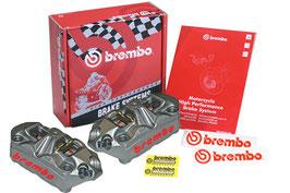 Brembo Monoblock Radial Bremszangen Kit M4