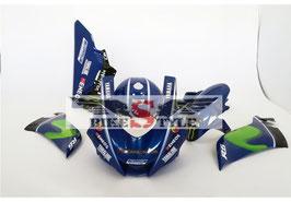 "Yamaha R6 ""Replica Movistar"" Rennverkleidung lackiert ab 2017"