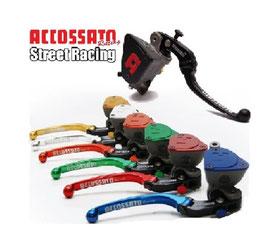 """Accossato Radial Bremspumpe 19x18 integr. Behälter """"Street Race"""""""