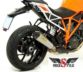 Arrow X-Kone Chrome Endschalldämpfer KTM SUPERDUKE 1290