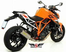 Arrow RACE TECH Titan Endschalldämpfer KTM SUPERDUKE 1290