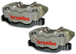 Brembo CNC Radial Bremszangen 130mm Kit P4