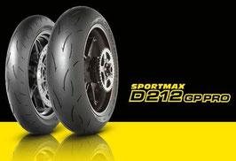 Dunlop D212 GP Pro Race 190/55/17
