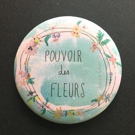 MAGNET COURONNE DE FLEURS