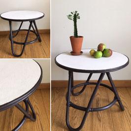 """TABLE ROTIN """"ÉBÈNE CRÈME"""""""