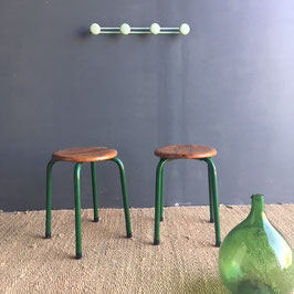 DUO TABOURETS GREEN