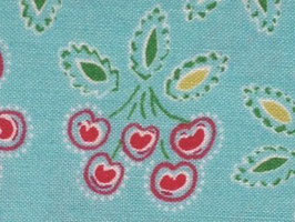 Dena Designs: Love & Joy CHERRY aqua