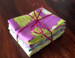 Stoffpaket Heather Bailey, LOTTIE DA & TRUE COLOURS, 4 Fat Quarter