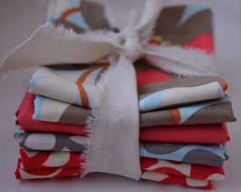 Stoffpaket Amy Butler Timeless Fabrics & Uni, 4 Fat Quarter