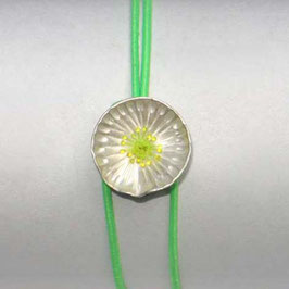 JOJO Armband  SILBERBLÜMCHEN neon-gelb, neon-grün