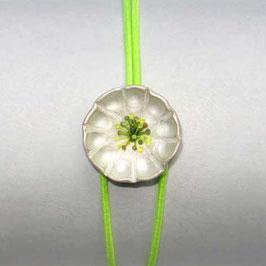 JOJO Armband SILBERBLÜMCHEN grün, neon-gelb