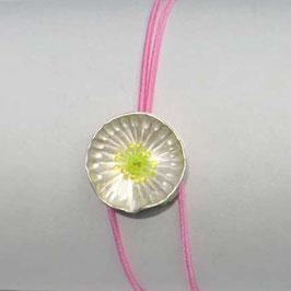 JOJO Armband SILBERBLÜMCHEN neon-gelb, pink