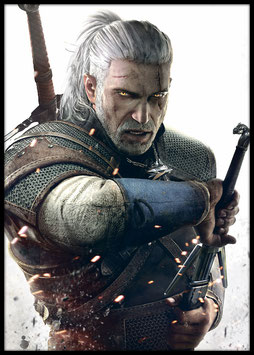 Geralt of Rivia, Poster