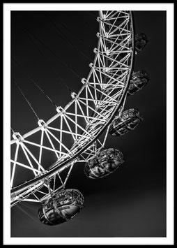 London Eye, Poster con cornice