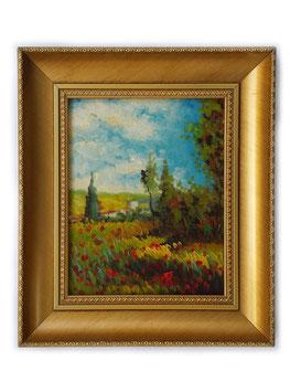 Sentiero tra i papaveri - Claude Monet