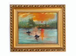 Impressione. Levar del sole - Claude Monet