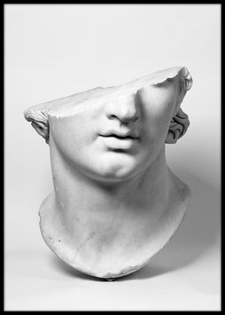 Head of a youth, Poster