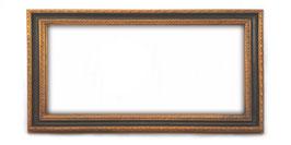 C00139 - Cornice rettangolare in legno