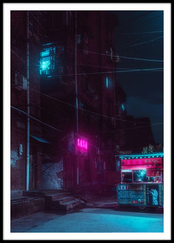 China Lights, Poster