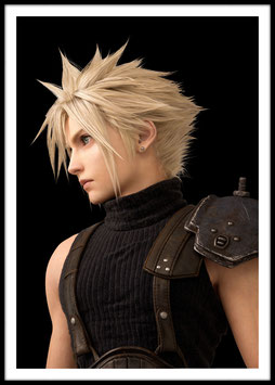 Cloud Strife, Poster