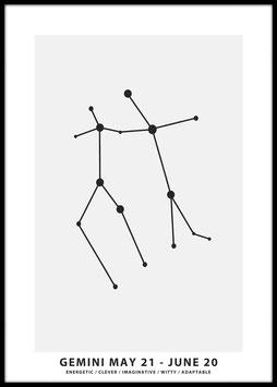 Gemini, Poster
