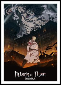 Attack on Titan: Final Season, Poster con cornice