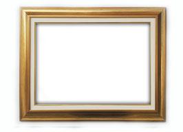 C00268 - Cornice rettangolare in legno