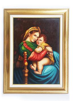 Q00829 - Madonna della seggiola, Raffaello Sanzio
