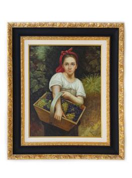 Q00980 - La Vendemmiatrice, William-Adolphe Bouguereau
