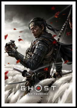 Ghost of Tsushima, Poster con cornice