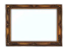 C00252 - Cornice rettangolare in legno