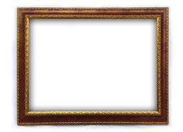 C00192 - Cornice rettangolare in legno