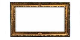 C00122 - Cornice rettangolare in legno