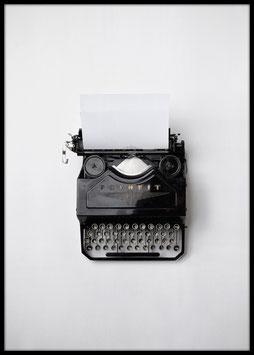 Typewrighter, Poster