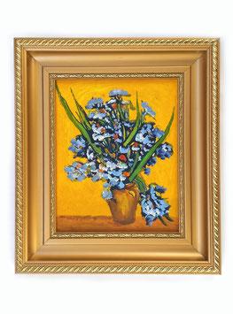 Vaso con iris - Van Gogh