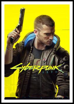 Cyberpunk 2077, Poster con cornice