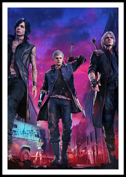 Devil May Cry 5, Poster