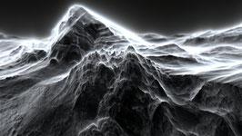 """Fraktalbild - """"Volcano"""""""