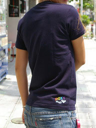 SeaDancer&ROXY コラボTシャツ 2010(紺)